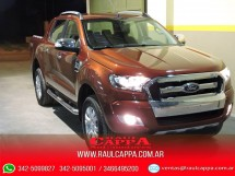 Ford RANGER  LIMITED CABINA DOBLE 4x4 AT